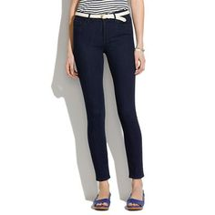 Skinny Skinny Ankle High Riser Jeans by Madewell