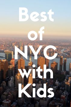 New York City might not be the first spot you think of when it comes to traveling with kids, but it has some great spots for families.