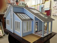Modern Bungalow Dollhouse | The Finished Vermont Farmhouse is a popular classic and one of our ...