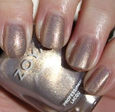 zoya. jules. swatched on one finger. $4.00