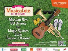 Musical été. Du 28 au 30 juin 2013 à Saint Dizier.