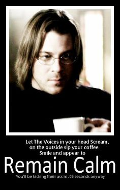 Image result for eliot leverage quotes, screams like a girl