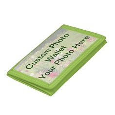 Custom Photo Wallets *Add Your Own Photo*