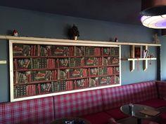 Κατασκευή ξύλινου πίνακα για το HACIENDA CAFE