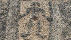 Rock Art at Kudopi (1) Human Figure