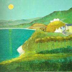 Irish Landscape, Landscape Paintings, Golf Courses, Sea, Gallery, Roof Rack, Ocean