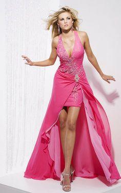 Abito Da Ballo con Applique con Perline moda Anello alta bassa