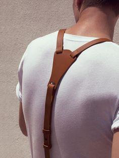 Nice suspenders yoke. Looks like it would be more comfortable than a metal yoke…