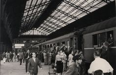 Madrid estación norte 1954 | por Old Photographs Archive Spain