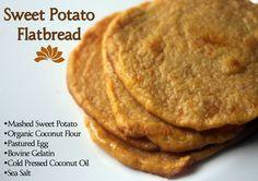 organic coconut flour flatbread