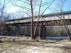 The Bridge of Dreams - Brinkhaven, OH Longest covered bridge in Ohio :)