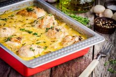 Chicken Dijonnaise Recipe: How to Make This French Classic (Ooooo La La! Cod Fish Recipes, Seafood Recipes, Chicken Recipes, Low Carb Recipes, Baking Recipes, National Fried Chicken Day, Oven Fried Chicken, Taco Chicken, Recipes