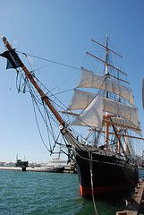 A Birthday Party for the Guinness Book of World Record's Oldest Active Sailing Ship