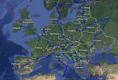 Shortest route to visit each european capital