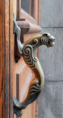 Unusual Creative Antique Door Handles