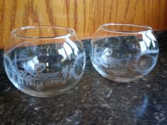 A League of Their Own Movie Promotional 2 Glasses Baseball Brandy Snifters RARE