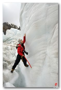 The Ice Cliff - Franz Joseph Glacier, West Coast NZ by Jonathan Zhang - New Zealand . West Coast Nz, Clear Lake, South Island, Small Island, Fiji, Pacific Ocean, Cliff, New Zealand, Joseph