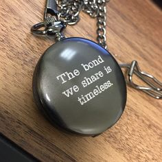 Wedding gift for fiancé, gift for groom, custom engraved pocket watch, personalized gift for him.