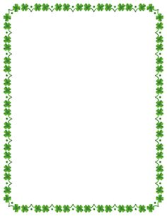 printable st patrick s day border free gif jpg pdf and png rh pinterest com