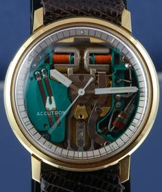 Vintage Bulova Accutron 214H Watch