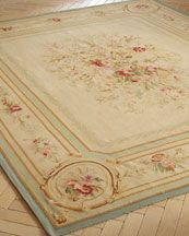 French Collection Aubusson rug