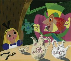 TOMBOLARE — Mary Blair concept artwork for Disney'sAlice in...