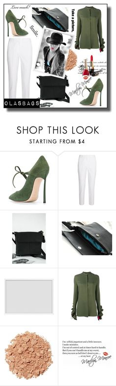 """OlasBags 8"" by nedim-848 ❤ liked on Polyvore featuring Casadei, Michael Kors, By Lassen, Haider Ackermann, Illamasqua and WALL"