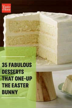 Easter Desserts, Easter Treats, Holiday Desserts, Easter Pie, Easter Candy, Refrigerated Cookie Dough, Sunflower Cakes, Chocolate Pancakes, Spiced Rum