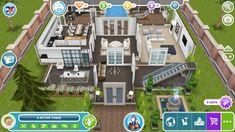 Mansion Plans, Sims Freeplay Houses, Sims Free Play, Sims House Plans, Sims House Design, Sims Ideas, Interior Decorating, Interior Design, Ideas Para