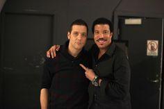 saying 'Hello' to Mr. Lionel Richie...