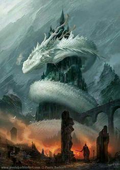 Beautiful pictures of dragons Dragon art and drawings Dark Fantasy Art, Fantasy Kunst, Fantasy Artwork, Fantasy World, Fantasy Monster, Monster Art, Dragon Artwork, Mythological Creatures, Fantasy Landscape