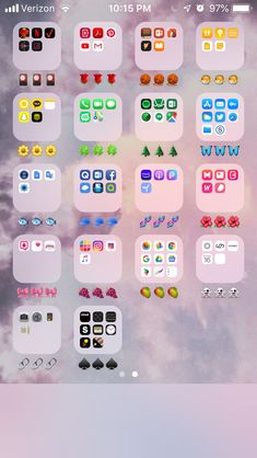 a cute and aesthetic way to organize your phone!