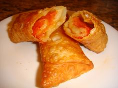 Pizza Eggrolls!