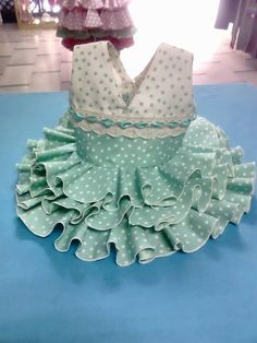 vestidos de flamenca y ole¡¡¡¡ Clothes Crafts, Sewing Clothes, Fashion Niños, Girl Doll Clothes, Lolita Dress, Princess Party, Baby Bibs, Baby Dress, American Girl