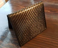 WALLETERAS -2XRFID Carbon Fiber/RFID Blocking Slim Front Pocket Wallet