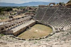 Ruins at Aphrodisias, Turkey http://www.timetravelturtle.com/2012/09/aphrodisias-best-ruins-turkey/ #turkey #ruins #ancient #love