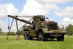 Ward La France 6-Ton Heavy Wrecker M1A1
