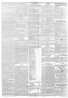 Connaught Telegraph 09-August-1837 - on Irish Newspapers