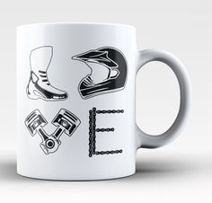 Love Motocross! The perfect mug for any proud motocross fan. Available here - http://diversethreads.com/products/love-motocross-mug