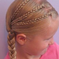 Tons of kids hairstyles... we do braids all the time and these are super cute