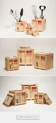 Inbox – Designer Shipping Boxes - Packaging of the World - Creative Package Design Gallery - http://www.packagingoftheworld.com/2016/03/inbox-designer-shipping-boxes.html