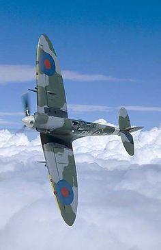 Photo: Spitfire F Mk Vc DU-Z, AR614, 312. czechoslovak wing RAF