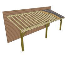 how to build a lean-to | Adding a lean-to roof to an existing building is a simple do-it ...