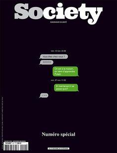 Society Nov 2015 après les attentats de Paris du 13 nov. #cover #jetudielacom