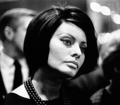 The Italian beauty Sophia Loren's high cheekbones made waves in the Sixties, making her one of the most popular actresses in the world.