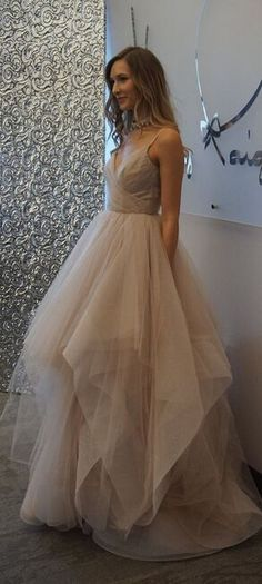 Spaghetti Straps Long Prom Dresses,Tulle Prom Dresses,Long Prom Dresses,Evening Dresses,Simple Cheap Prom Dress,Plus Size Prom Gowns,Party Dresses