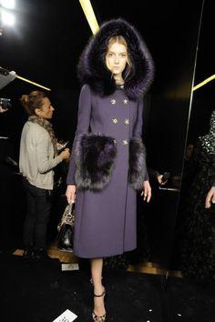 Dolce e Gabbana fall 2015 Backstage