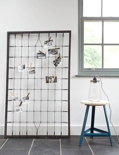We've been trying to find something like this for a while now after spying something similar on one of our favourite blogs! This giant memo board stands an impressive 1.3 metres off the floor and is a great place to display your old photos or postcards, or use it in the office or kitchen as a useful memo board.