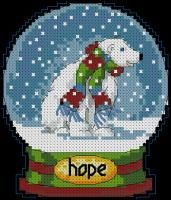 Hope Snow Globe