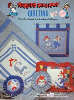 Hard to Find Vintage 80s Raggedy Ann & Andy by scarlettess on Etsy, $14.00